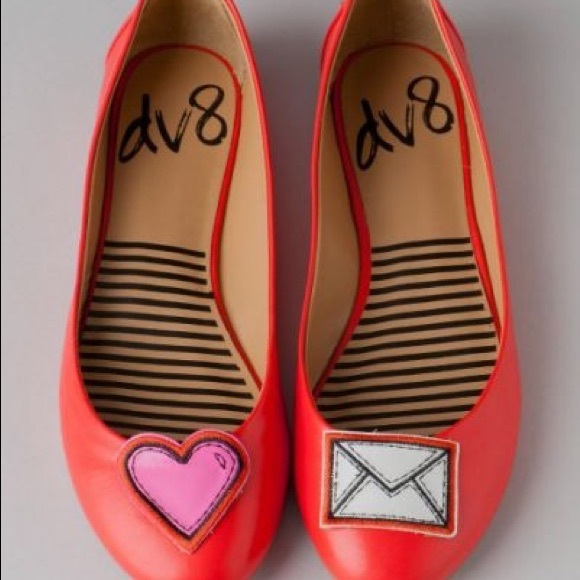 Anthropologie Shoes - 😻Anthro DV Love Letter Flats💌